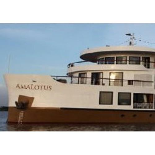 Hợp tác thi công Tổng đài điện thoại, Camera quan sát trên Du Thuyền Mekong Amalotus